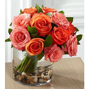 E8-5235 The FTD Blazing Beauty Rose Bouquet